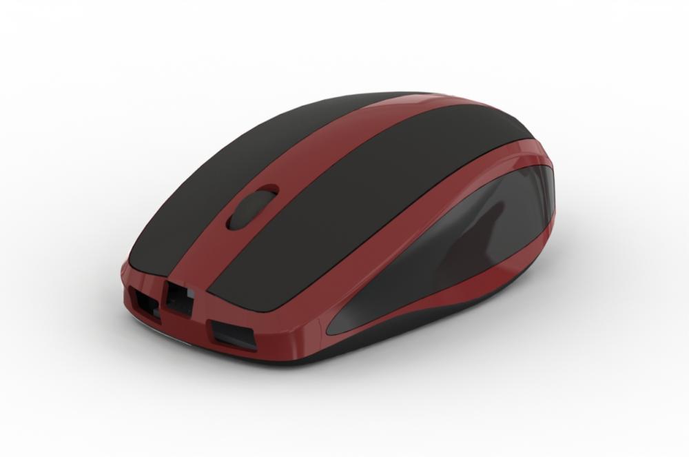 Projektowanie CAD obudowa MouseBox