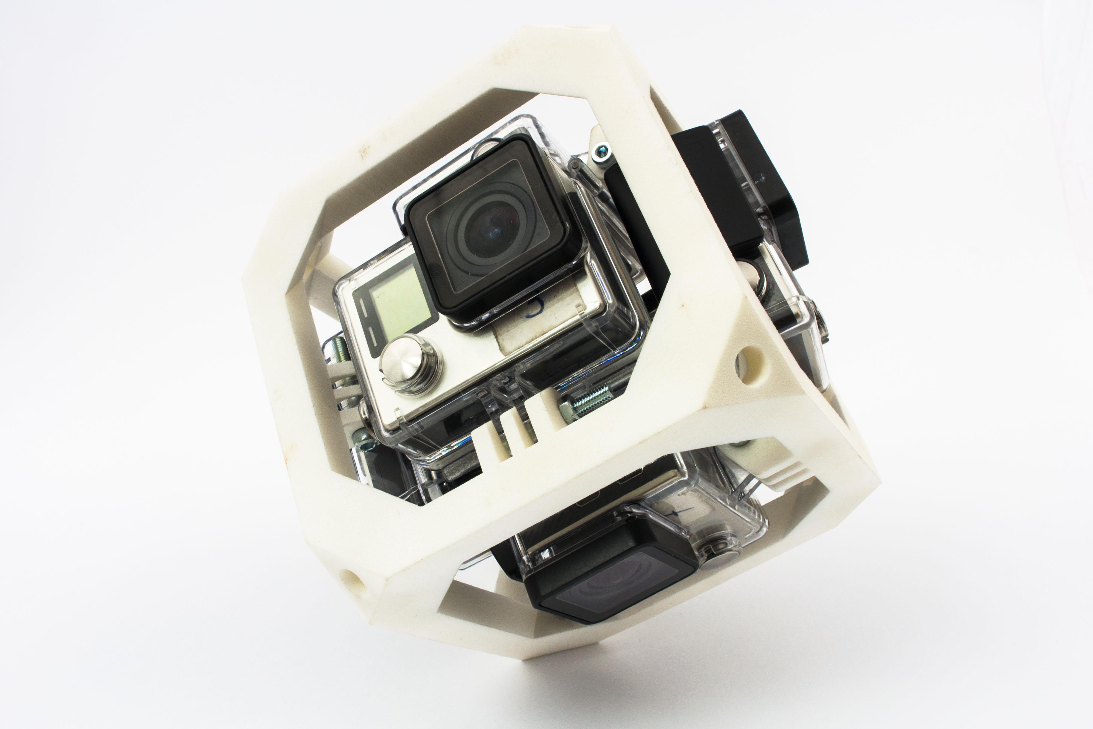 Druk 3D SLS Uchwyt GoPro 360