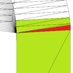 Plik STL do druku 3D - uszkodzenie - przecinanie się trójkątów