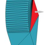 Plik STL do druku 3D - uszkodzenie - odwrócony trójkąt
