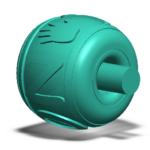 Model CAD 3D SLT biżuteria zawieszka wisiorek