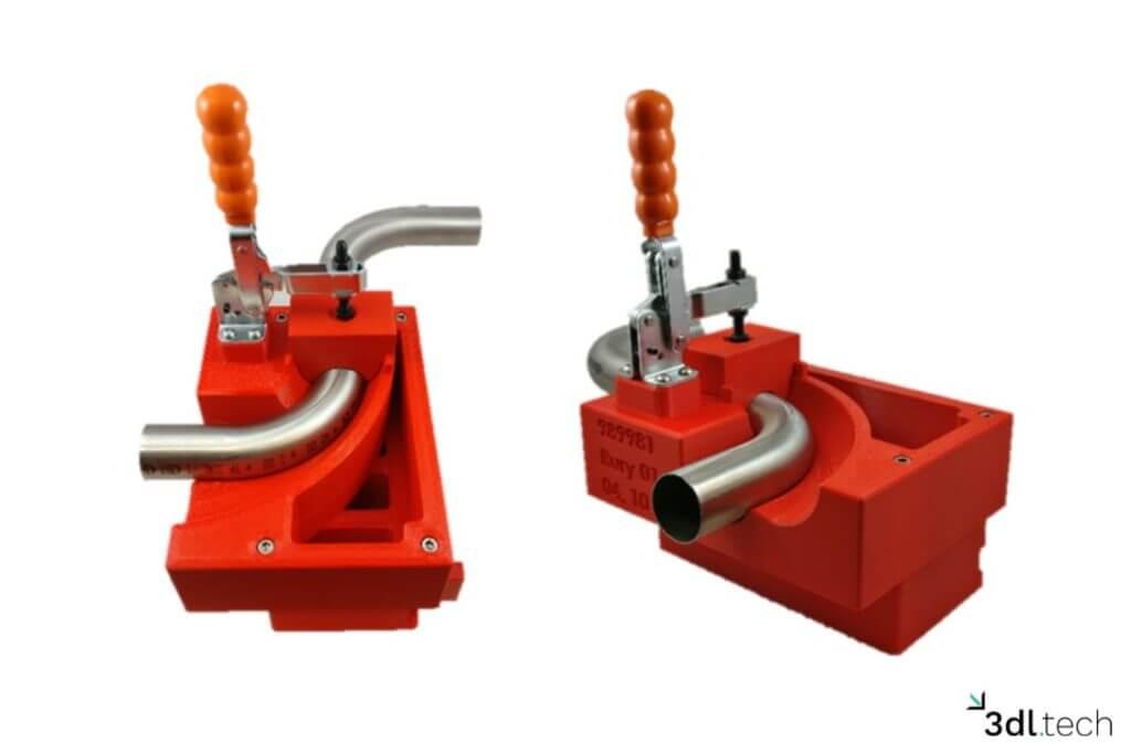 Wspomniane w przykładzie narzędzie produkcyjne w technologii FDM z użyciem dużej dyszy