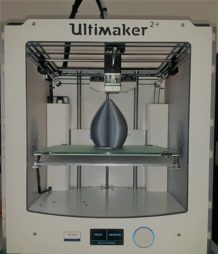 Jedna z turbin wydrukowana na urządzeniu Ultimaker 2+