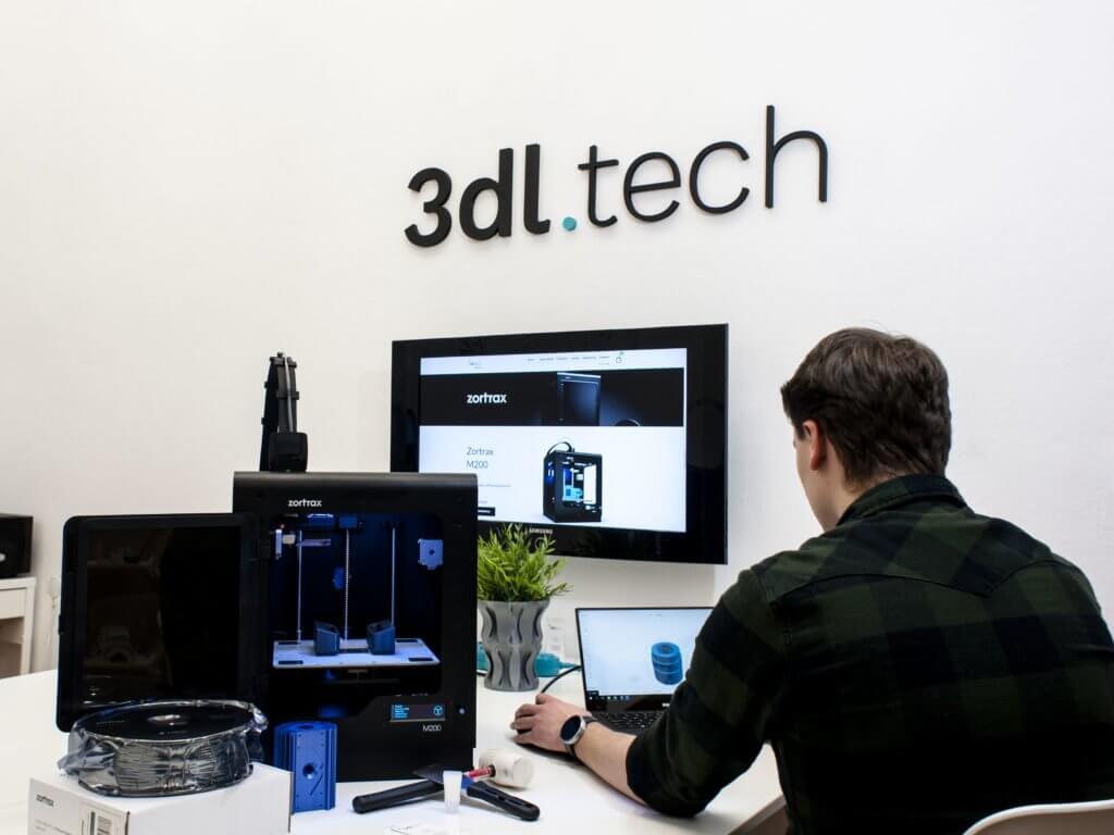 Showroom wrocław Zortrax drukarka 3D