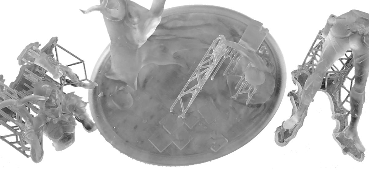 Precyzyjny wydruk 3D figurki