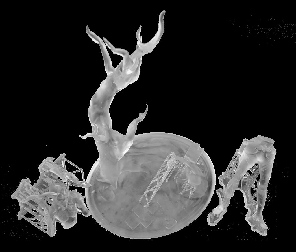 Prezycyjny druk 3D z żywicy - technologia SLA