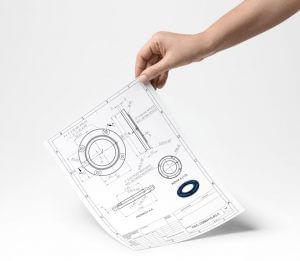 Dokumentacja rysunkowa 2D na podstawie modeli 3D - projektowanie przemysłowe