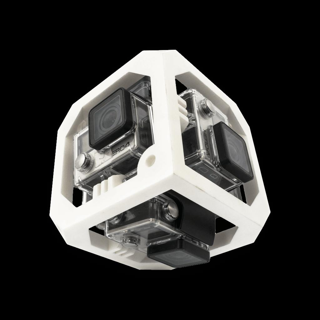 Uchwyt 360 do kamer GoPro - druk 3D SLS