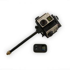 Uchwyt do kamery GoPro Hero 4 druk 3D SLS