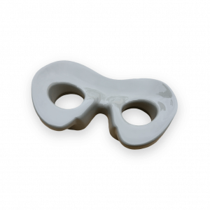 Okulary wykonane metodą druku 3D + lakierowanie proszkowe wydruków 3D